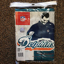Vintage Miami Dolphins Poncho Rain Coat New in Package Old School Never Open