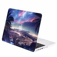 """Tropical City Night Scene Matte Case for Macbook Pro 13"""" w./ Retina A1425/A1502"""