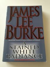 Very Rare James Lee Burke ARC 1st Edition A Stained White Radiance 1992