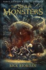 The Sea of Monsters: The Graphic Novel (Percy Jackson and the Olympian-ExLibrary