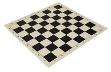 "20"" Vinyl Chess Board – Meets Tournament Standards - Black - 2.25 Inch Squares"