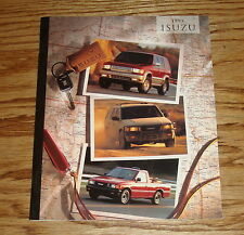 Original 1995 Isuzu Trooper Rodeo Pickup Sales Brochure 95