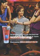 Wella Shockwaves Ultra Strong Tuff Stuff Gel 2007 Magazine Advert #3586