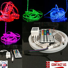5M Multi Color Tiras de LED Luz Kit con 44Key para 12V Toldo Caravana Barco Coche