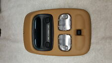 93 98 Jeep Grand Cherokee ZJ Tan Overhead Console Moon Roof Switch