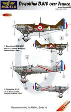 LF Models Decals 1/72 DEWOITINE D.510 Fighter over France