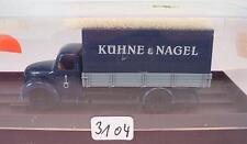 Brekina 1/87 4207 Magirus Rundhauber LKW Pritsche / Plane Kühne & Nagel OVP#3104
