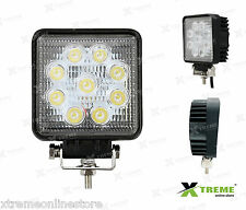 27w 9 Cree LED SQ Fog Off Road DRL Light For Royal Enfield Electra Twin Spark