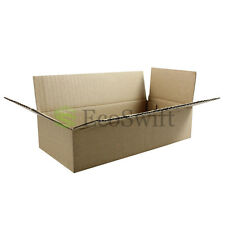 45 8x4x2 Cardboard Packing Mailing Moving Shipping Boxes Corrugated Box Cartons