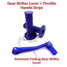 Gear Shifter Lever Throttle Grips For Chinese CRF50 TTR SSR Dirt Pit Motor Bike