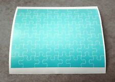 1/10, 1/8, 1/12  RC Jigsaw Puzzle Masking Sheet, For Body Shell, Masks
