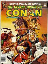 SAVAGE SWORD OF CONAN #63 (1981 near mint) John Busema Conan + Gil Kane's Andrax