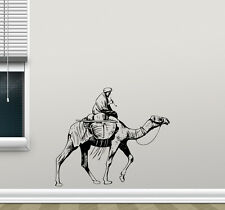 Camel Wall Decal Arabic Bedouin Vinyl Sticker Bedroom Decor Animal Poster 89hor