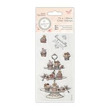 CUPCAKE STAND - 75x140mm Clear Stamp Set - Bellisima Collection - DoCrafts