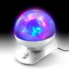 Colour Changing Laser Sphere Light Show Projector Disco Party Bedroom Mood Lamp