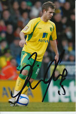 NORWICH CITY HAND SIGNED DAVID FOX 6X4 PHOTO 2.