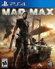 Playstation 4 PS4 --- MAD MAX --- Complete Game ---VG---