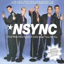 God Must Have Spent a Little More Time on You [Single] by *NSYNC (CD, Feb-1999,