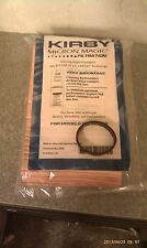 9 Sentria Micron Magic G3-6 Kirby Vacuum Bags FREE BELT BRAND NEW SEALED PRODUCT