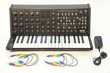 KORG MS-20 mini Monophonic Analog Synthesizer w/ Adapter World Ship