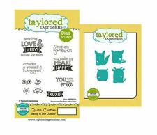 Taylored Expressions Rubber Cling Stamp(7) & Die(4) Set  QUICK CRITTERS ~TEPS170