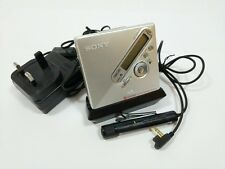 Sony MZ-N710 Portable MiniDisc Recorder with Accessories