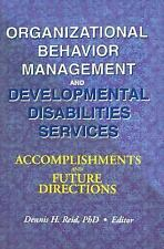 Organizational Behavior Management and Developmental Disabilities Serv-ExLibrary