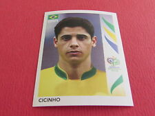 382 CICINHO BRASIL BRESIL  PANINI FOOTBALL GERMANY 2006 WM FIFA WORLD