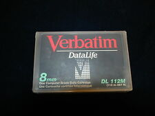 Verbatim DL-112M 2Gb/4Gb 8mm 112m 367 ft Data Cartridge