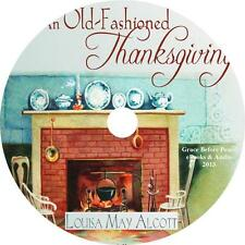 An Old Fashioned Thanksgiving Holiday Audiobook Louisa May Alcott on 1 Audio CD