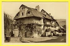 cpa Rare 12 - SAINT CÔME d'OLT (Aveyron) Maisons Ancienne Place de la FONTAINE