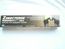 Ten  ZIMECTERIN GOLD Horse Wormer De-Wormer Tape Worm