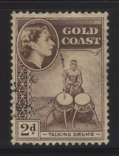 "[JSC]1957 GOLD COAST 151 (SG156) - Queen Elizabeth II ""Talking Drums"""