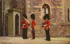 MILITARY :THE MILITARY IN LONDON-Changing Guard-A & H PAYNE- TUCK 'Oilette'