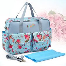 New Multifunctional Mummy Messenger Bag Stylish Baby Changing Diaper Nappy Bag