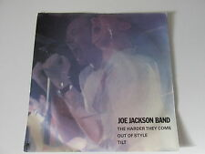 """JOE JACKSON THE HARDER THEY COME (1980s NEW WAVE) VINYL 7"""" 45RPM"""