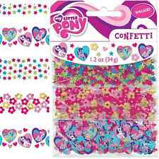 NEW My Little Pony Confetti 1.2oz. (Each) Kids Birthday Party Supplies