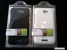 2x Zignum Smartphone Hardcover +  Schutzfolie für HTC One X in Black und Weiß