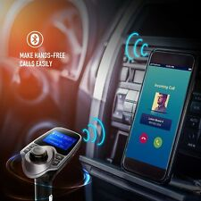 MP3 Music Player FM Transmitter Wireless Handsfree USB Charger Bluetooth For Car