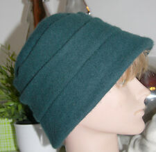 A-Zone Acc. Mütze Kappe 100% Wolle Wool  Petrol   size: 57cm  Neu