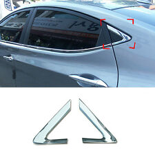 Chrome C Pillar Cover Molding Trim Garnish B916 For HYUNDAI 2011-2016 Elantra MD