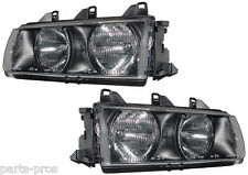 New Replacement Headlight Assembly PAIR / FOR BMW E36 3 SERIES