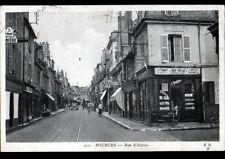 BOURGES (18) BAR-TABAC MONTIGNY Biere de PIGNOUX , Rue d'AURON animée en 1939
