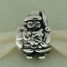 Authentic Pandora 790852 Santa Clause Christmas Sterling Silver Bead Charm