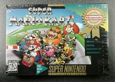 Super Mario Kart (Super Nintendo SNES, 1992) FACTORY SEALED