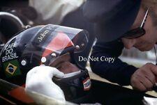 Emerson Fittipaldi & Colin Chapman Lotus F1 Portrait 1972 Photograph