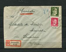 Elsass - Stempel Quatzenheim a auf Bedarfs R - Brief. Umschlag Mängel (DK3)