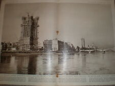 Photo article construction of Millbank Tower london 1961