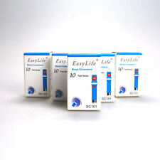 5 x 10 EASY LIFE BLOOD CHOLESTEROL METER/MONITOR TESTING STRIPS