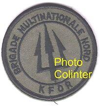 Brigade Multinationale Nord  KFOR  - Ecusson  / insigne tissus  - OPEX